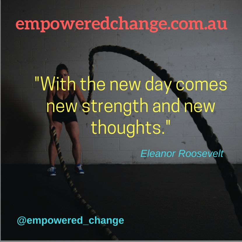 New Day, mindsets, Process of Change, rituals and routines