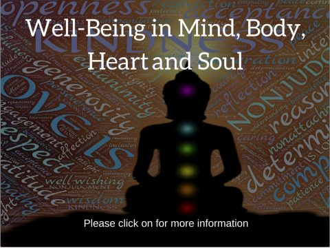 Explanation of our well-being from all realms Mind, Body, Heart and Soul