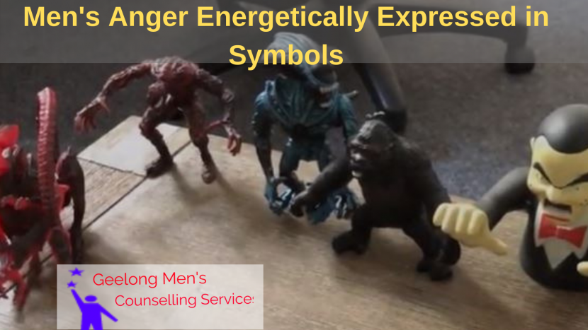 Anger of Men Expressed as Symbols